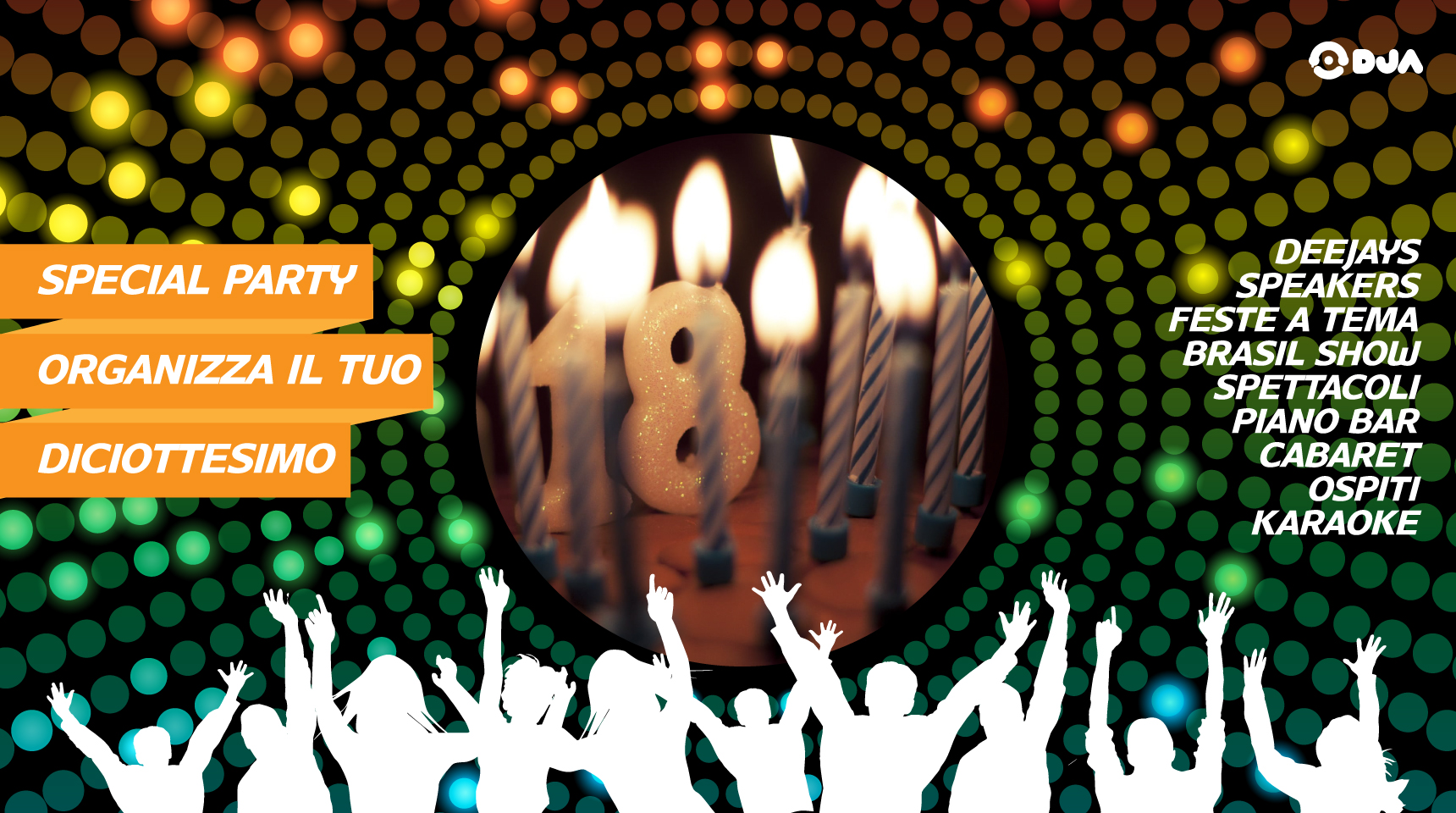 Animazione Festa 18 Anni Musica Giochi E Intrattenimento Garantito