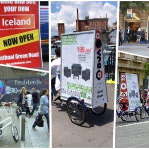 Tariffe bici pubblicitarie a Napoli