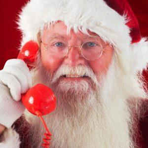 Telefonata videomessaggio Babbo Natale