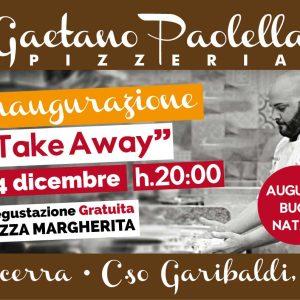 """Inaugurazione pizzeria Gaetano Paolella """"take away"""" ad Acerra"""