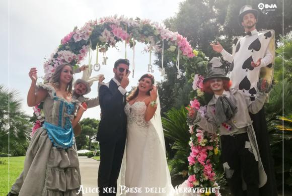 Matrimonio tema Alice nel Paese delle Meraviglie