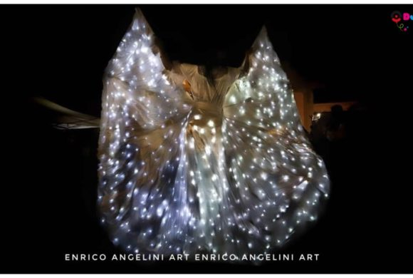 Accensione Luminarie con Artisti di Strada