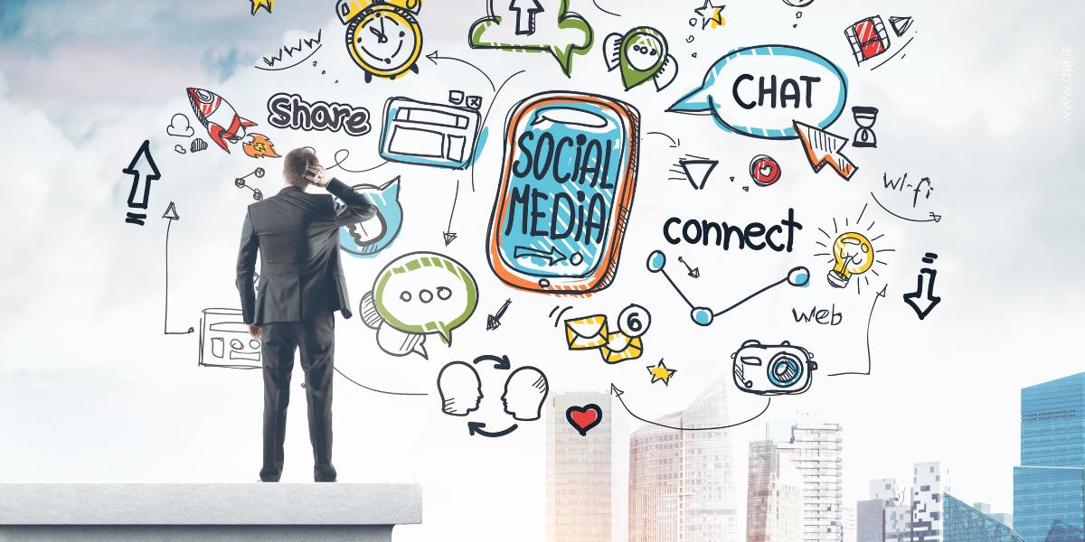 Gestione pagina social aziendale
