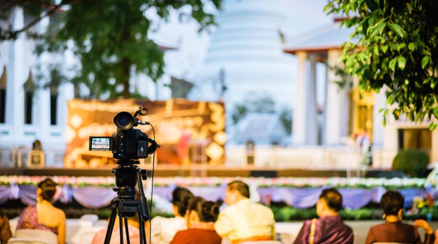 Servizio streaming live video eventi