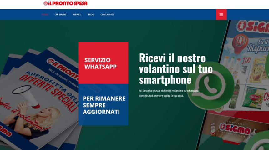 Sito web supermercato Sigma Acerra