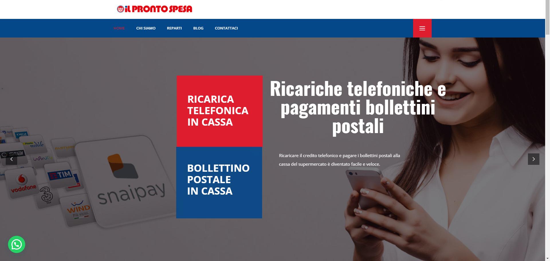Home - Il Pronto Spesa - Google Chrome 16_04_2021 20_27_40
